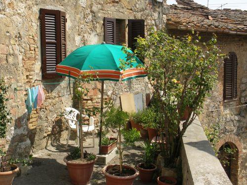 tuscany sun parasol
