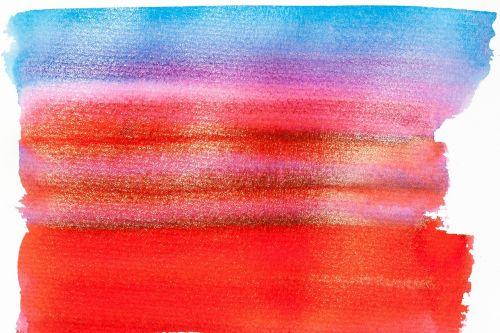 tusche indian ink watercolor wet