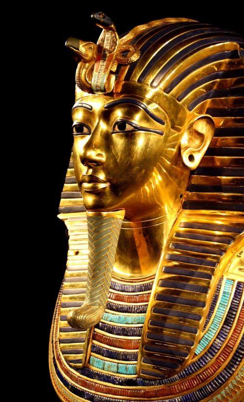 tutankhamun death mask pharaonic