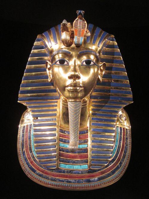 tutankhamun pharaoh gold mask