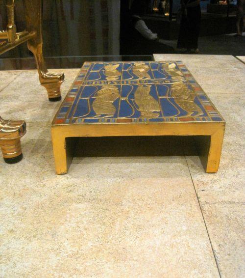 Tutankhamun's Footrest