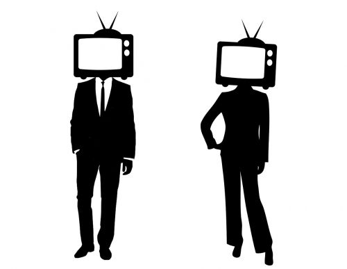 tv heads people