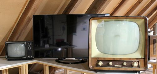 tv retro household appliances