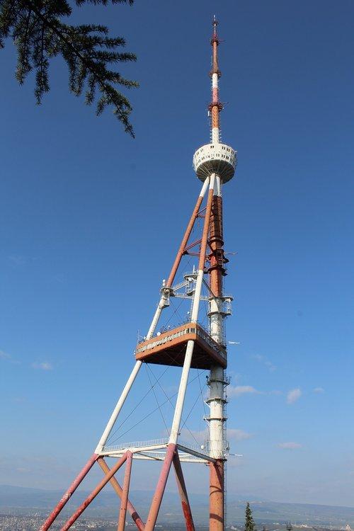 TV transliacijos bokšto, Tbilisis, Gruzija