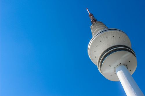 tv tower architecture high