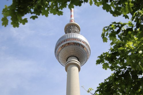 tv tower  berlin  alexanderplatz