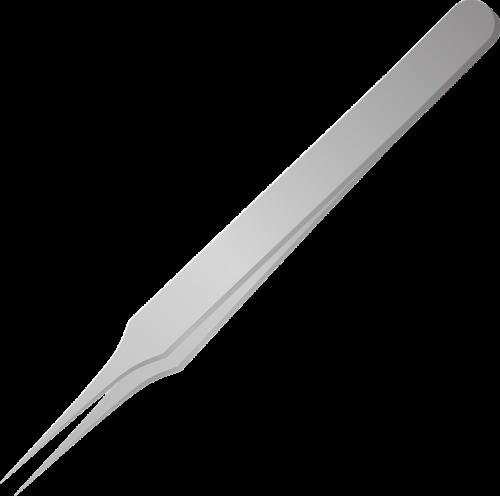 tweezers tongs free vector graphics