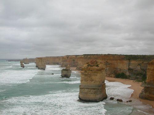 dvylika apaštalų,australia,puikus okeaninis kelias
