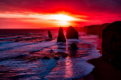 twelve apostles australia rocks
