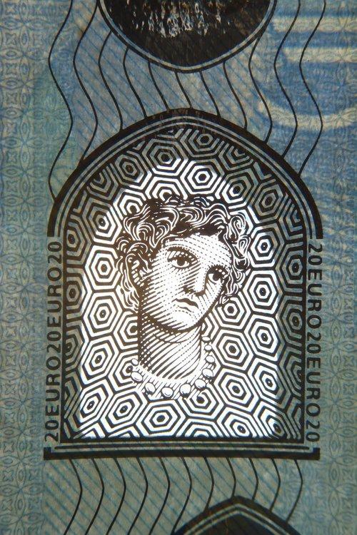 twenty  euro  bill
