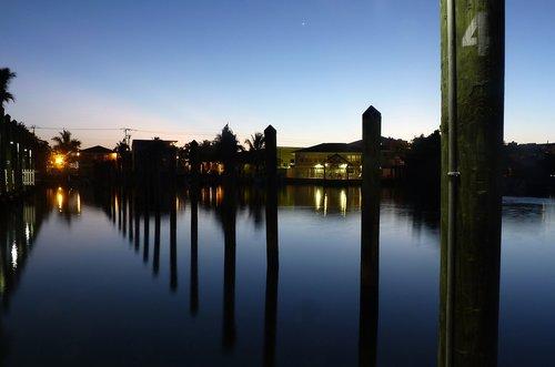 twilight  florida  sky