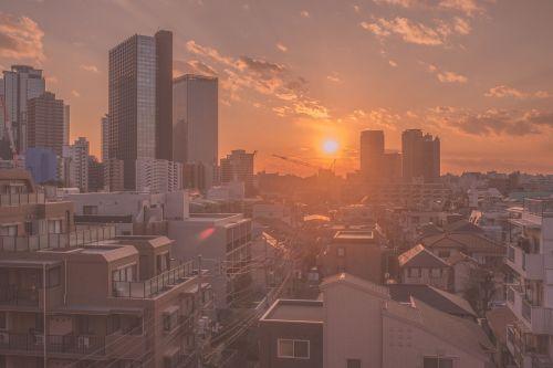 twilight japan city