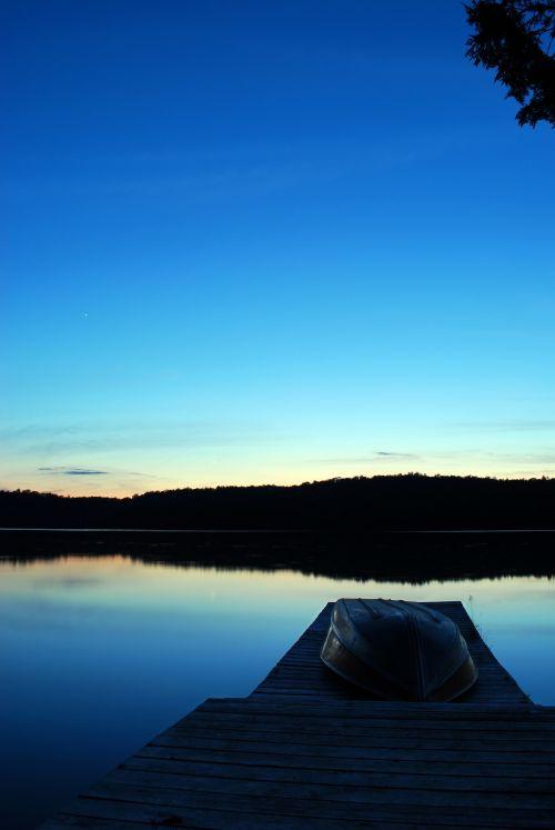 Twilight Over Lake 2