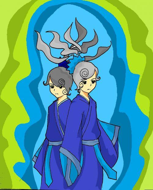 twin gemini manga