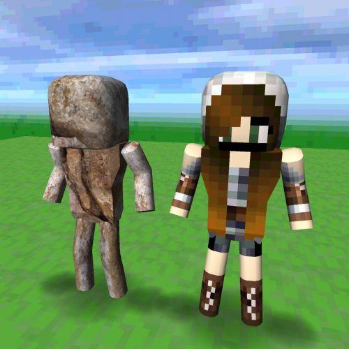Twin Robots