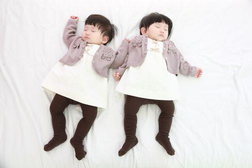 twins children girl