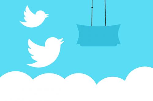 twitter banner message