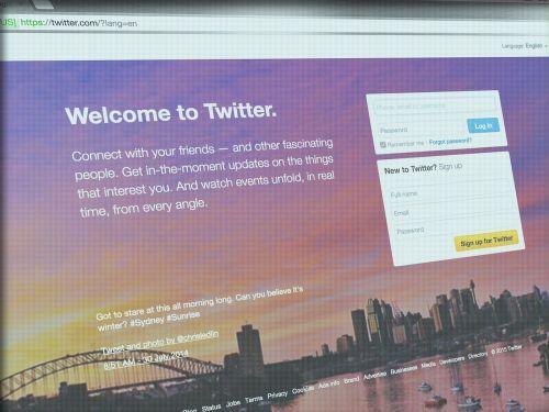 twitter social media some