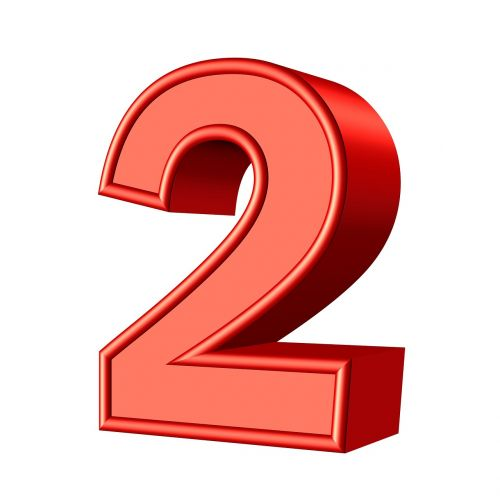 two 2 number