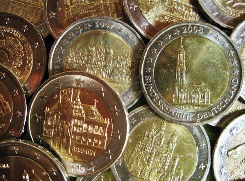 euro items special coins money