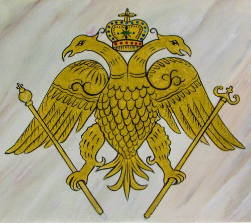 two headed eagle emblem symbol