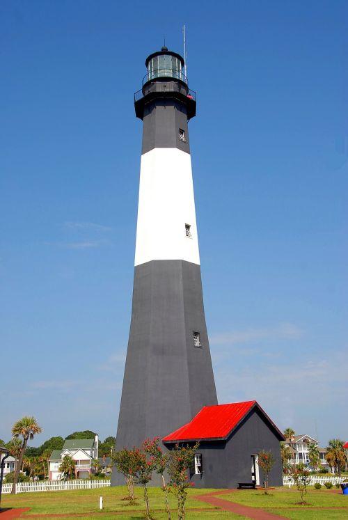 tybee island lighthouse georgia usa