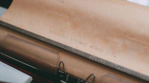 typewriter typing type