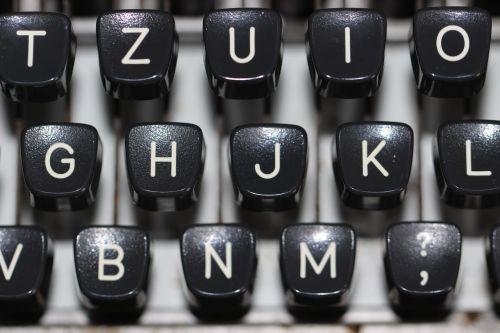 typewriter keyboard type