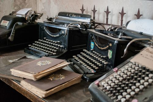 typewriter castle renaissance