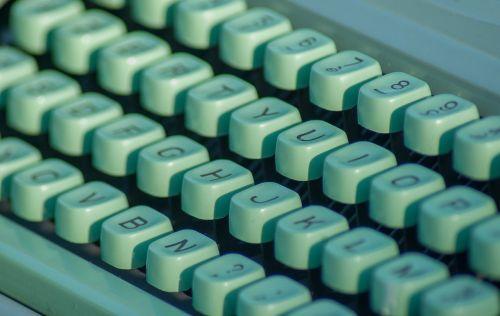 typewriter letters secretary