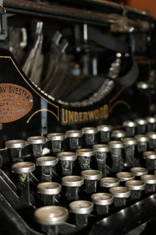 typewriter letter font