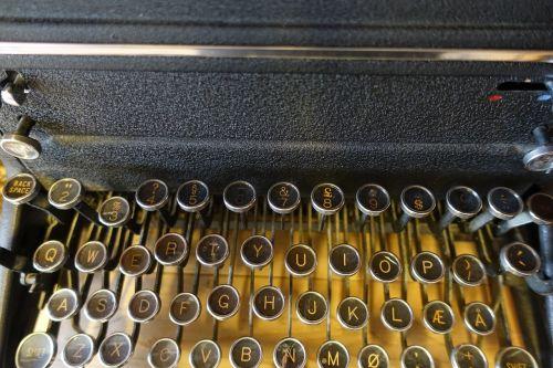 typewriter writing machine author
