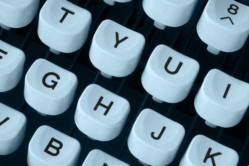 typewriter  keyboard  machine