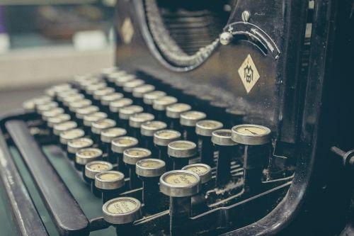 typewriter author mechanical