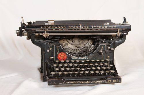 typewriter mechanical old