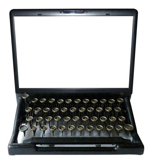 typewriter computer keyboard
