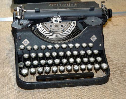 typewriter font leave