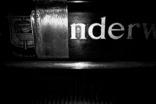 typewriter vintage hipster