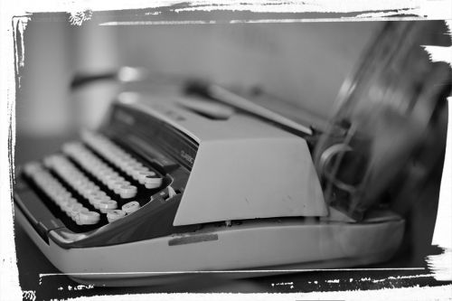 typewriter words old