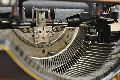typewriter keys steampunk