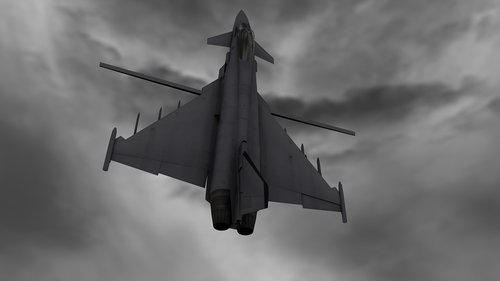 typhoon  jet plane  aircraft