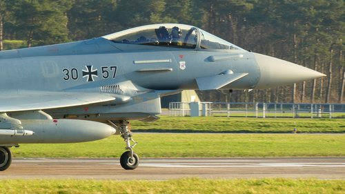 typhoon  bundeswehr  aircraft