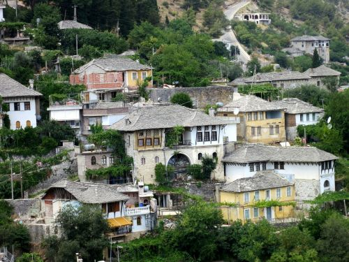 typical albanian houses architecture albania