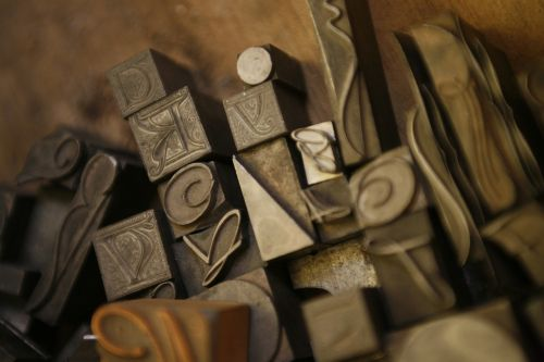 typography catholic letters