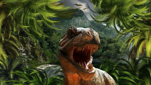 tyrannosaurus rex dinosaur reptile