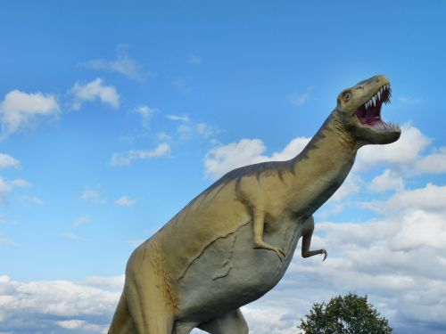 tyrannosaurus rex dinosaur prehistoric times