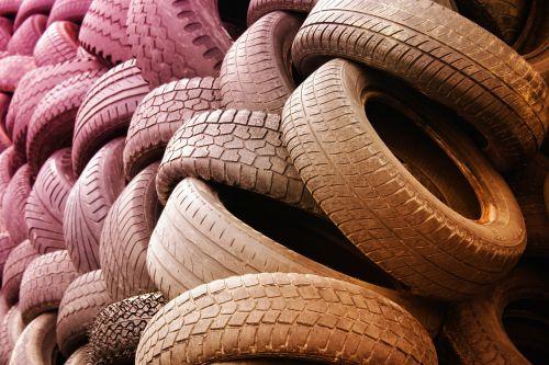 tyres warehouse dump