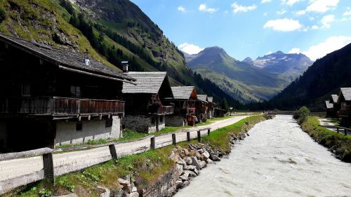 tyrol idyll landscape