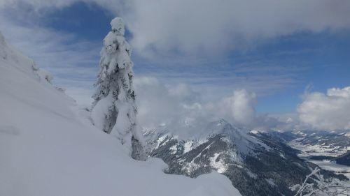 tyrol hahnenkamm winter tannheimertal