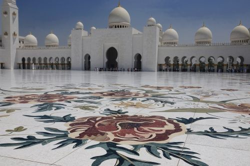 uae mosque faith